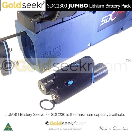 Shows JUMBO Lithium Battery unit